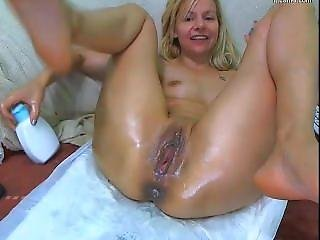Anal Prolapse And Squirt From Wonderful Whore