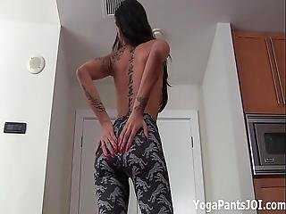Check Out My Ass In Yoga Shorts