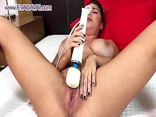 Pussy Contracting And Squirting Eva Davai Hitachi