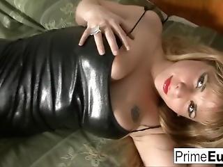 Busty Latina With Hairy Pussy Enjoys Hard Anal Sex