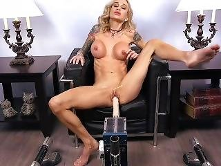 Sarah Jessie Fucking Machine