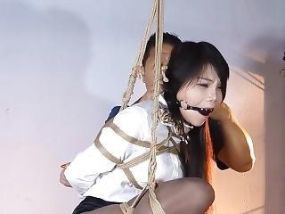 asiatique, bondage, chinoise, fétiche