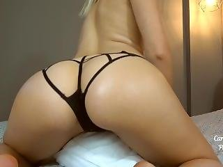 Teen Babe Humping A Pillow Till Pulsating Orgasm