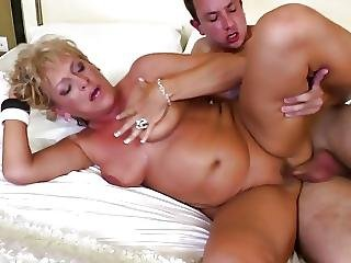 Hungry Mature Mom Gets Young Boys Cock