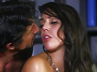 Gorgeous Brunette Has Sweaty Sex With School Counselor