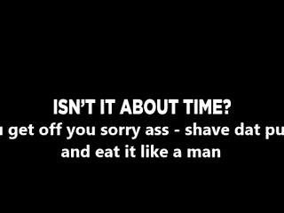 Shave Your Girlfriends Pussy For $1.00