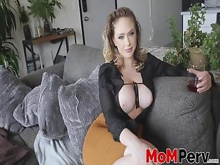 Who Would Have Though That A Mature Beauty Like Kagney Linn Karter Would Get Drunk Enough To Fuck Her Stepson!