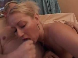 Blonde Milf Has Fun After A Glass Of Wine  Julia Reaves