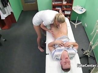 Nurse Fucked Teen Stud In Office