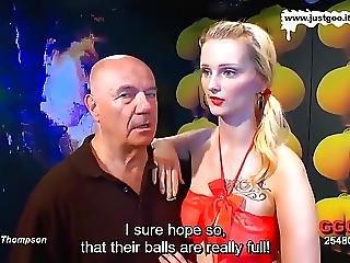 German Goo Girls Mia Bitchs Interview Eng Subs