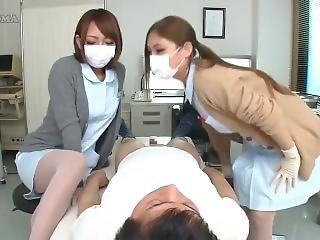Japanese Nurses Handjob