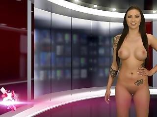 Naked News Jennifer Audition