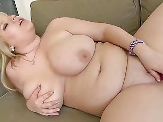 Idea chubby blonde masturbating what