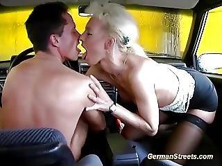 ερασιτεχνικό, πρωκτικό, Bukkake, αμάξι, γερμανικό, Milf, έξω από το σπίτι, φύλο, άγρια