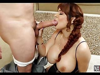 Redhead Milf Fucks The Post Man Alyssa Lynn
