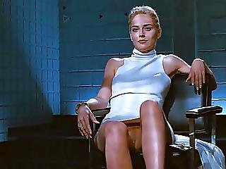 Sharon Stone Crossing Legs Loop
