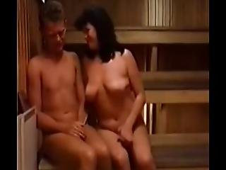 Couples In The Sauna