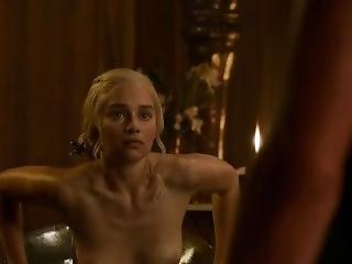 Game Of Thrones - S03e08 (2013) - Emilia Clarke - Slowmotion