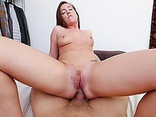 brunette, hardcore, petite, porno ster, zuigen, Tiener