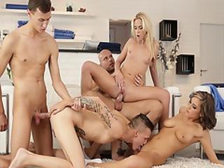 mmf bisexuální orgie