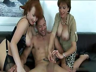 Group Sex 2 Matures And 1 Guy