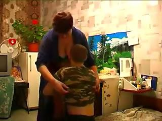 Chubby Redhead Mother Fucked By Son