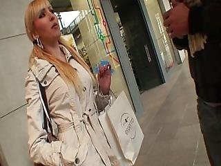 Flirting And Fucking With Spanish Girl 18yo In A Mall