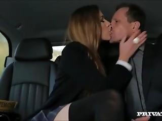 Rich European Schoolgirl Fucks Chauffeur
