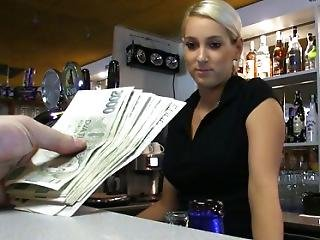 Incredibly Hot Czech Blonde Is Paid To Take A Sex Break At Work