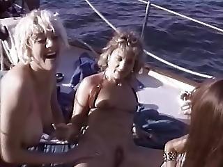 ブロンド, ボート, ブルネット, フィンガリング, マスターベーション, アウトドア