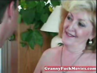 Granny Whore Loves Them Babe
