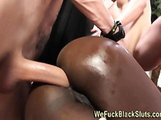 Rimmed Black Ass Fucked