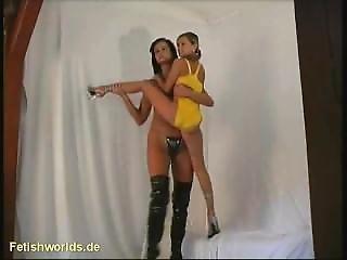 Naked Tall Girl And Short Girl