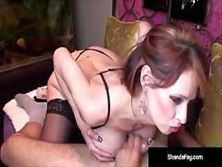 Naughty Housewife Shanda Fay Gets A Cock In Her Pussy And Ass