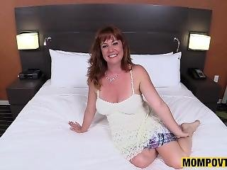 Real Natural Redhead Milf Fucked