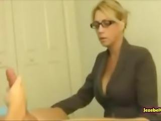 Milf Mom Caught Her Son Masturbating And Helps Him By Sucking