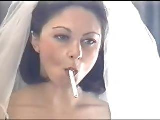 Gina Smoking Salem 100s