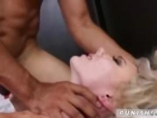 Hardcore ebony punishment and tied whipped