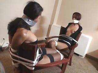 Ebony Chair Tied