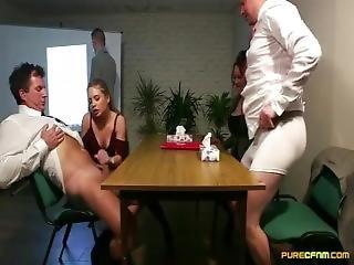 After Cum Still Stroked Sensitive Cock