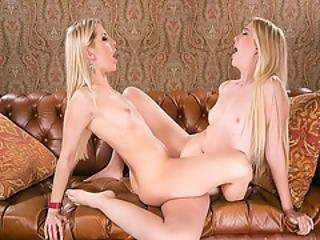 Samantha Rone Tribs Ashley Fire To Her Orgasm With Her Pussy
