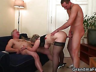Granny Craves Big Dicks