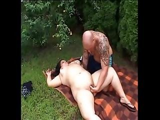 Chubby Girl Groped And Fucked Outdoor