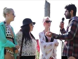 Beach Interviews