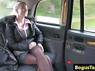 Busty Taxi Amateur Fucked In Backseat Pov