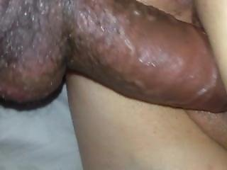 My Throbbing Cock Cumming In Her