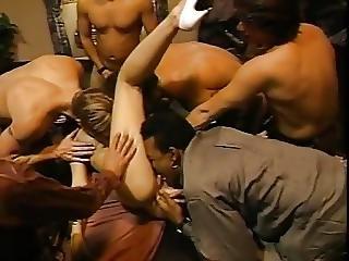 anal, ejaculação, penetração dupla, sexo em grupo, festa, penetração, vintage