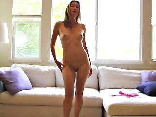 Stripping Nude To Show You My Tight Body, Tits, Ass, Legs And Smooth Pussy