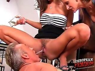 Femdom sex clip