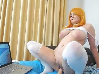 gros téton, hentai, masturbation, solo